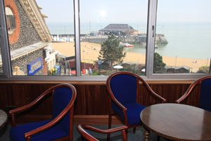 Broadstairs Sailing Club - Clubhouse views.